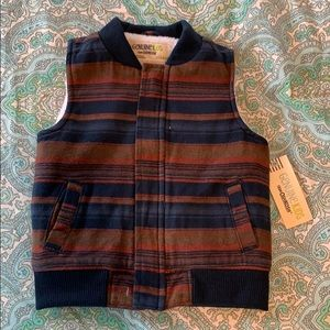 NWT Gymboree Shearling Vest